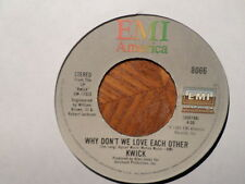 "EMI 45 7"" RECORD/KWICK/WHY DON'T WE LOVE EACH OTHER/I WANT TO DANCE WITH YOU/ MN"