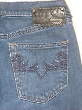 Diesel Doozy Jeans Womens Low Waist Straight Leg Dark 8FE  Sz 26