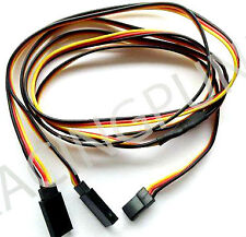 900mm 90cm Y Micro Standard Servo Extension Lead Wire Hitec Connector Male Plugs