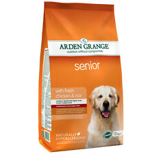 Arden Grange Chicken & Rice Senior Dog Food 12kg