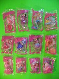 2006 McDonalds - Barbie 12 Dancing Princesses - set of 12 *MIP*