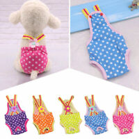 Breed Washable Dog Diaper Pet Pant Reusable Puppy Doggie Diapers Underwear XS-XL