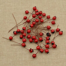 Polyfoam Red Berry Cherry Artificial Fruit Home Flower Decoration Beauty 10mm