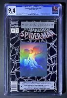 Amazing Spider-Man 365 (1st Appearance Of 2099) CGC 9.4 🕷 Newsstand Variant 🕷