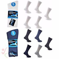 New 10 Pairs Mens Thick Cotton Blend Performance Active Sports Socks Running Gym