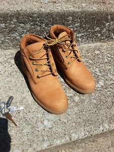 Timberland EarthKeepers Amston Women's New Wedge Boot Size 7.5 in Wheat Nubuck