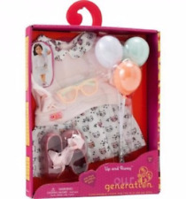 """OUR GENERATION UP AND AWAY FASHIONABLE LOOKS FOR 18"""" DOLL - NEW BALOONS"""