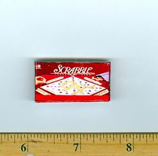 Dollhouse Miniature Size Board Game SCRABBLE  Box