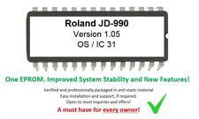 Roland JD-990 JD990 - Version 1.05 Firmware Upgrade Update Eprom [Latest OS]