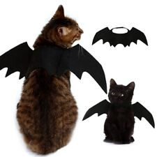 Halloween Bat Wing Costume for Cats Puppy Dog Funny Apparel Cloth for Kitten Cat