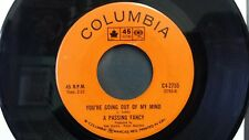 A PASSING FANCY - You're Going Out of My Mind/Sounds Silly - 1967 Garage 45 EX