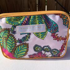 Trina Turk For Clinique Tropical Floral Makeup Toileteries Bag