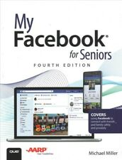 My Facebook for Seniors, Paperback by Miller, Michael, Like New Used, Free sh...