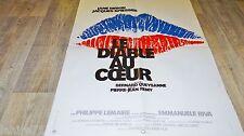 jane birkin LE DIABLE AU COEUR ! affiche cinema 1976