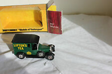 TALBOT VAN DE 1927 LIPTON S TEA Match box model of yesteryear Y 5  au 1/43