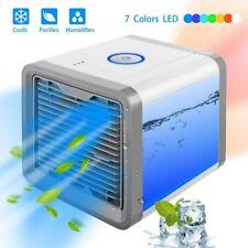 Mini Mobile Climatiseur Rafraichisseur d'air USB Ventilateur Multifonction 3en1