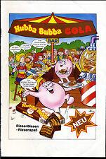 Hubba Bubba -- Bar -- Riesenblasen-Riesenspaß - Wrigley --Werbung von 1984--