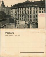 Ansichtskarte Innere Altstadt-Dresden Johannstrasse Altes Landhaus 1908