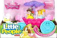 Carousel Carriage Disney Princess Fisher Price Little People Pretend Play Toys