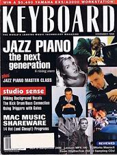 1998 Diana Krall Jazz Piano Keyboard ZOOM RHYTHMTRAK 234 LEXICON MPX100 Magazine