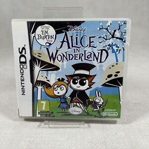NINTENDO DS - DISNEY ALICE IN WONDERLAND - COMPLETE WITH MANUAL - FREE P&P