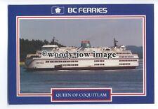 FE1299 - Canadian Ferry - Queen of Coquitlam , built 1976 - postcard