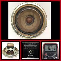 "Vintage 1970's KLH WOOFER, Speaker 8"" From Model 30 Thirty  #2"
