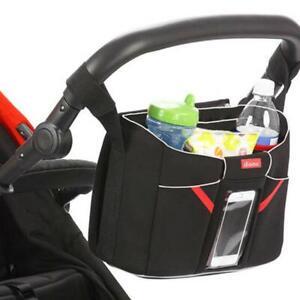 Diono Baby Changing Bag Pram Storage Organizer Phone Holder Buggy Tech Station
