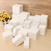 Multi-Size White Postal Cardboard Boxes Listing Small Mailing Shipping Carton