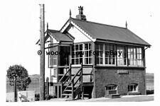 pt9599 - Aberdovey Railway Signal Box - photograph