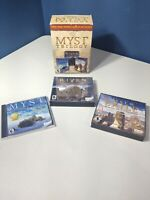 Myst Trilogy (PC Windows/Mac) All 3 Games, Myst, Riven & Exile