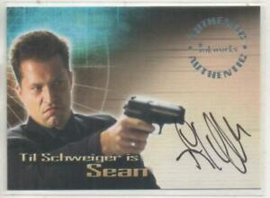 "Tomb Raider Auto Trading Card No.A4 Til Schweiger ""Sean"""