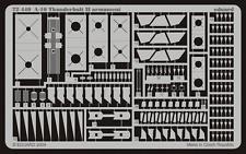 A-10 armament 1/72 Eduard For kit: ITALERI, REVELL