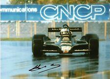 Jean Pierre Jarier F1 1978 Canadian Grand Prix signed photo Lotus 79 Tyrrell