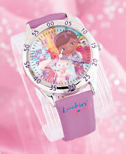 DISNEY Doc McStuffins Watch For Girls ~Teaches Kids How To Tell Time ~ NEW ~LQQk