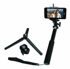 Selfie Stick Monopod w/ Mini Tripod & Removable Bluetooth Adapter GoPro iPhone