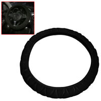 Anti-slip Car Steering Wheel Cover Microfiber Elastic Breathable Mesh 36-40 cm