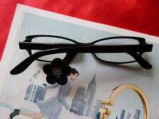 J.F REY FRANCE RETRO HOLLYWOOD EYEGLASSES FRAME JF1009 50 16L142 FLOWER&CRYSTALS