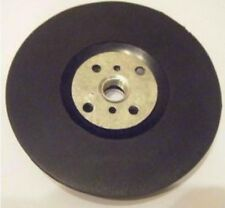 100mm Rubber Pad With Locking Nut For Fibre Discs - Free Postage 10mm Thread