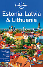 Lonely Planet Estonia, Lativia & Lithuania *FREE SHIPPING - NEW*