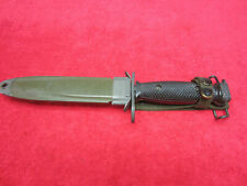 Us Vietnam Era Bayonet Mkd: Imperial with Scabbard