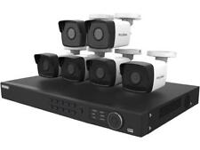 LaView LV-KNT984A42W4 4MP zoom HD 8 Channel NVR PoE IP Security System, with 2pc