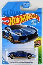 Lamborghini Aventador LP 700-4 > Blue > Hot Wheels > 2018 > New