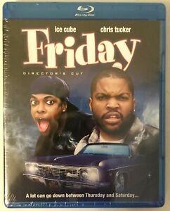 Friday Blu-Ray Brand New Sealed Ice Cube Chris Tucker Bernie Mac Nia Long