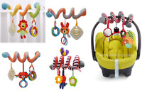 Baby Activity Spiral Hanging Toy Pushchair Pram Stroller Bedding Car Seat Cot UK