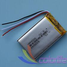 3.7V 900mAh 603048 3wire Liion Li-po Li-Polymer Rechargeable Battery for GPS MP3
