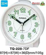 AUSSIE SELLER CASIO ALARM DESK CLOCK TQ-228-7DF TQ-228 TQ228 12 MONTH WARANTY