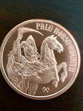 "1 OZ .999 Fine Copper "" Pale Horse of Death "" Four Horsemen of the Apocalypse"