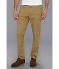 New Ben Sherman Mens Ec1 5 Pocket Chinos Khaki Antique Bronze Trousers Slim w32
