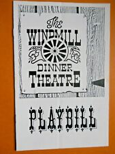 1970's - The Windmill Dinner Theatre Program - The Ninety Day Mistress